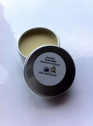 Geranium & Patchouli pocket size Body Balm
